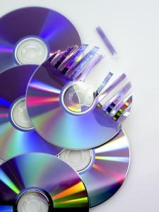 Vernichten von digitalen Datenträgern