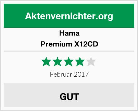 Hama Premium X12CD Test