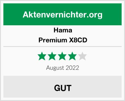 Hama Premium X8CD Test