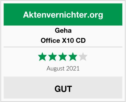 Geha Office X10 CD Test