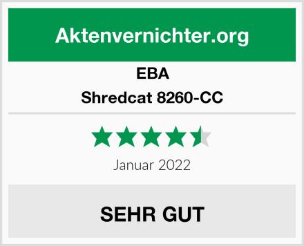 EBA Shredcat 8260-CC Test