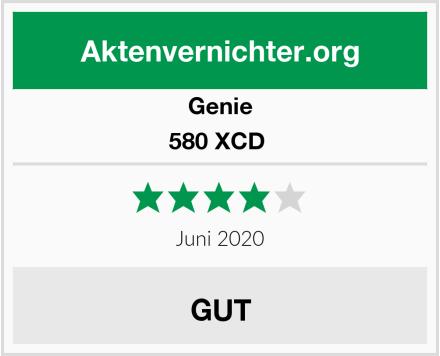 Genie 580 XCD  Test