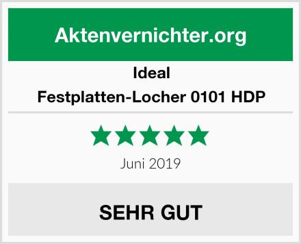 Ideal Festplatten-Locher 0101 HDP Test