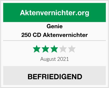 Genie 250 CD Aktenvernichter Test