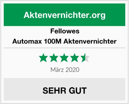 Fellowes Automax 100M Aktenvernichter Test