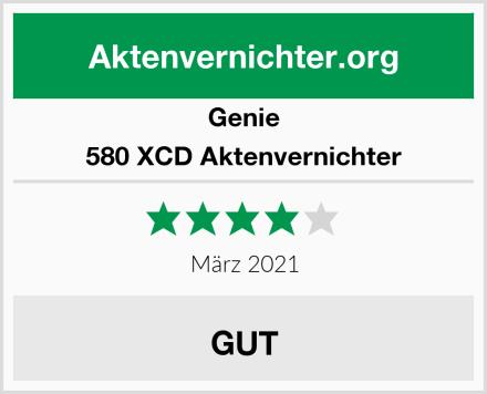 Genie 580 XCD Aktenvernichter Test