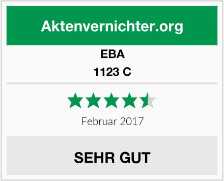 EBA 1123 C Test