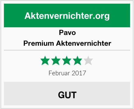 Pavo Premium Aktenvernichter Test