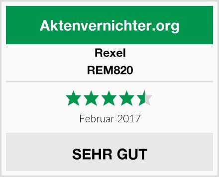 Rexel REM820 Test